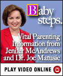 Vital parenting information on Baby Steps